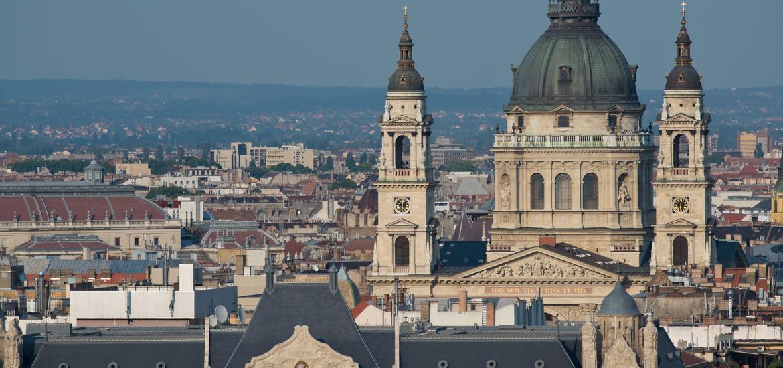 Saint Stephen's Basilica in Budapest