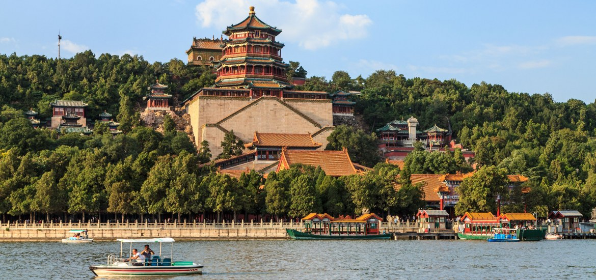 View of the Summer Palace from Kunming Lake