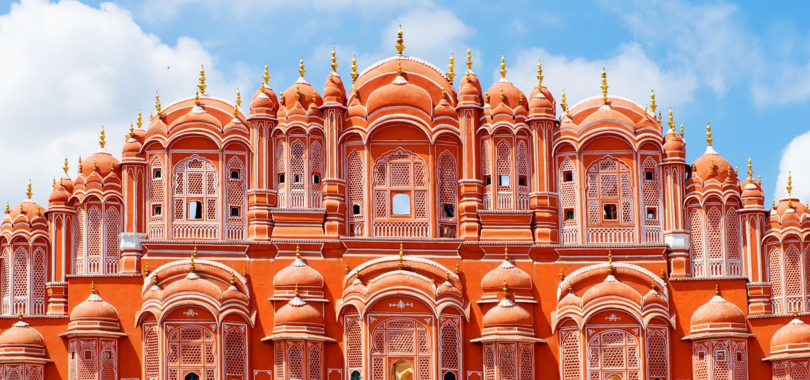 The 'Palace of the Winds' in Jaipur, Rajasthan