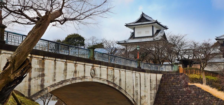 Kanazawa Castle in Ishikawa, Japan