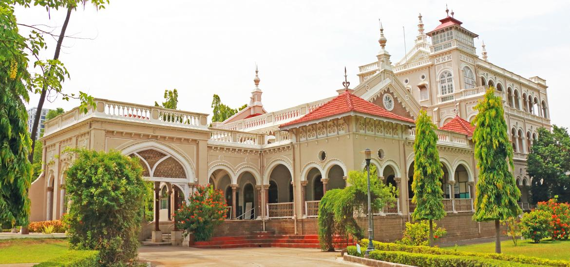 Aga Khan is one of the biggest landmarks in Indian history