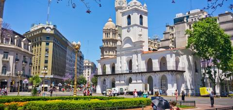 A view of Argentina's capitol city, Buenos Aires