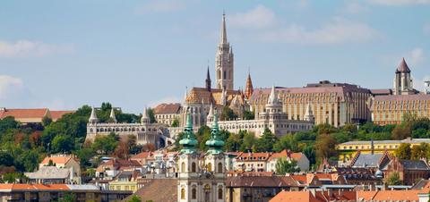 Buda side of Budapest