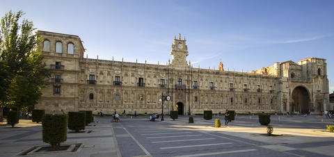 The Convent of San Marcos, one of the greatest architectural jewels of León