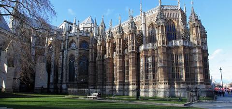 Westminster Abbey in London, United Kingdom