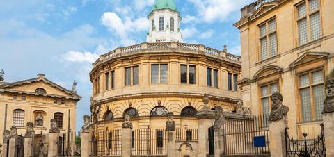Sheldonian Theater in Oxford