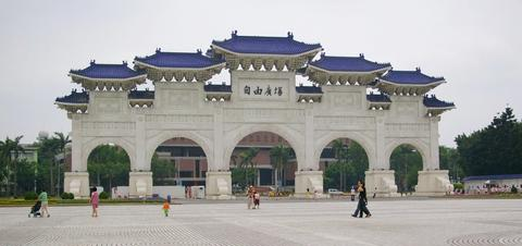 National Chiang Kai-shek Memorial Hall in the Freedom Square