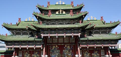 Picture of the Winter Palace of the Bogd Khan in Ulaanbaatar, Mongolia